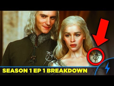 """Game of Thrones 1x01 BREAKDOWN """"Winter Is Coming"""" (Rewatch Analysis)"""
