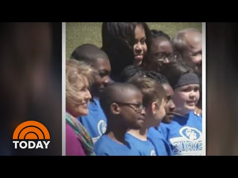 How Meeting Michelle Obama Taught Student How To Be Thankful | TODAY