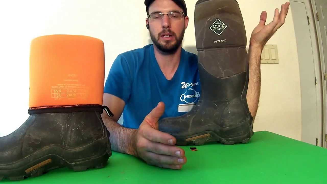 Muck Boot Review Wetlands - YouTube