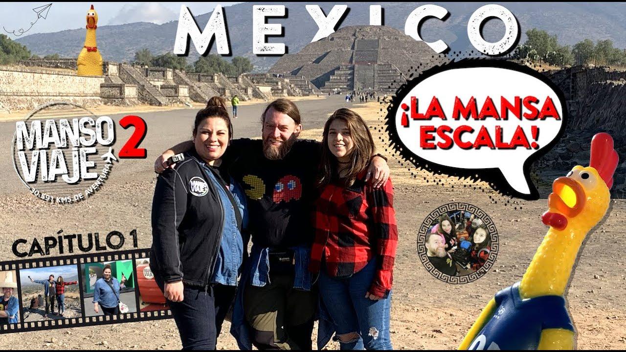 Download Manso Viaje 2 - Capítulo 1. Tuvimos la mejor escala en la capital de México... espectacular!!
