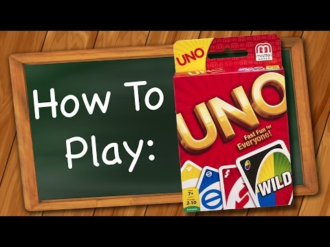 How to play: Uno