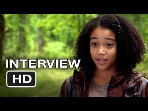 The Hunger Games - Amandla Stenberg Interview (2012) HD Movie