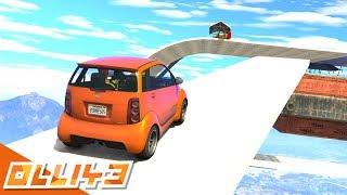 GTA 5 : SKY HIGH PANTO PARKOUR STUNT RACE! (GTA 5 Versus)