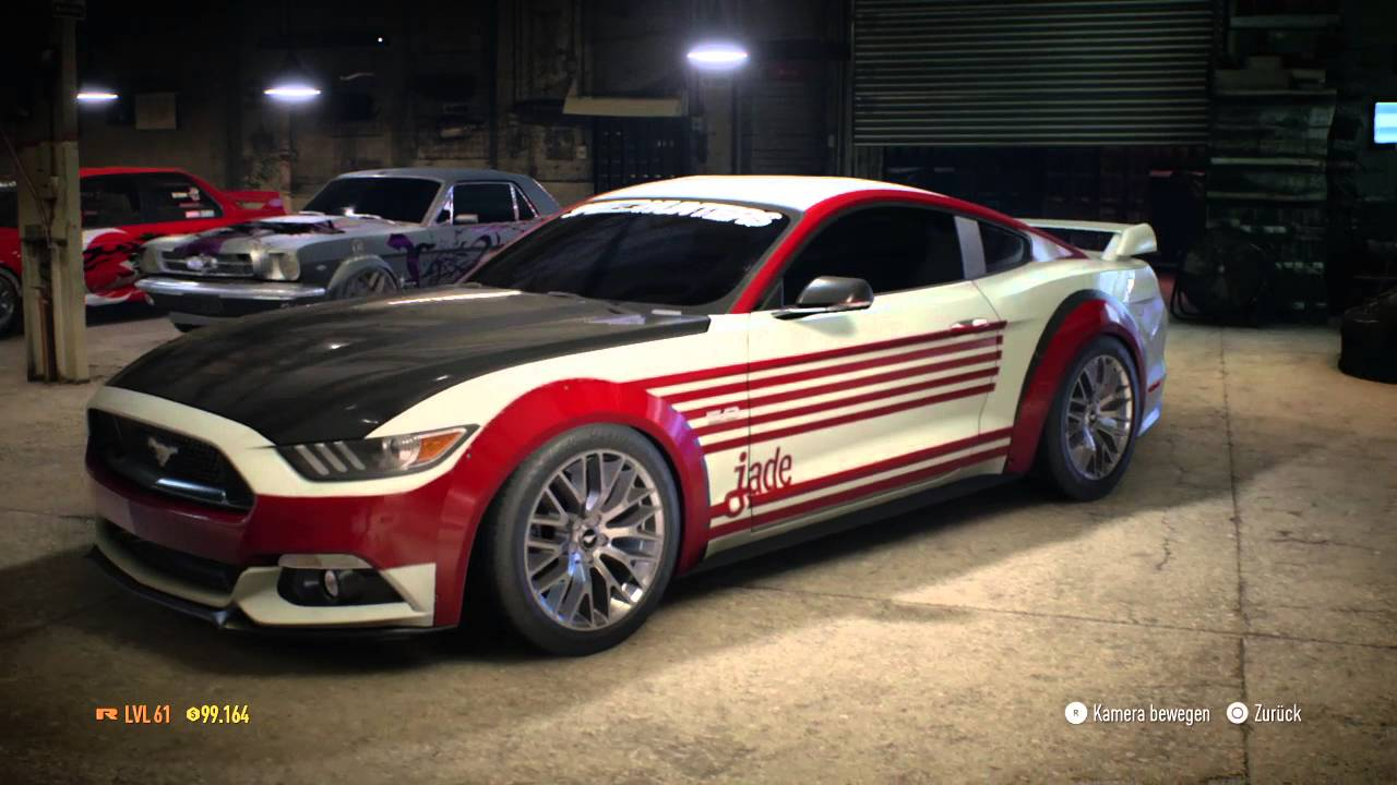 need for speed ford mustang gt 2015 tuning showcase. Black Bedroom Furniture Sets. Home Design Ideas