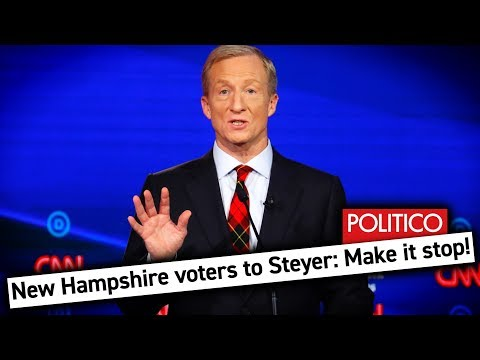 Tom Steyer's Campaign Ads Are Annoying the HeII Out of Voters in New Hampshire