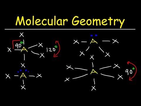 Molecular Geometry & VSEPR Theory - Basic Introduction