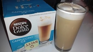 CAPPUCCINO ICE!!!CAFETERA DOLCE GUSTO NESCAFE