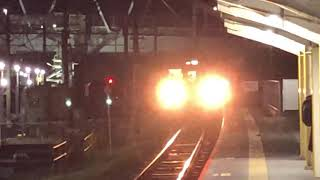 日豊本線牧駅幸崎行き815系普通列車
