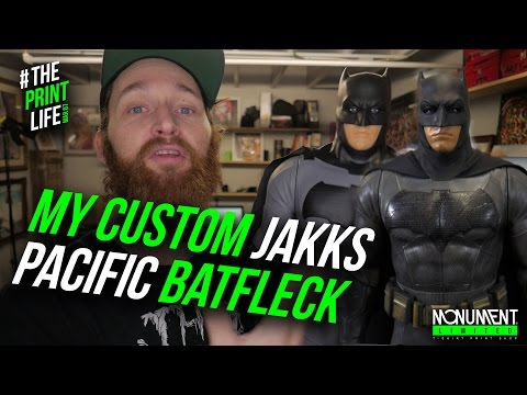 Jakks Pacific Batman V Superman Custom Toy Figure DIY - 동영상