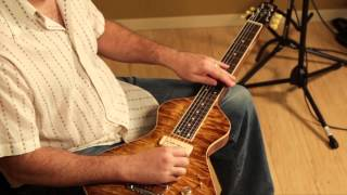 Lap steel guitar played on a Grammatico Amps LaGrange amplifier by Jason Lynn