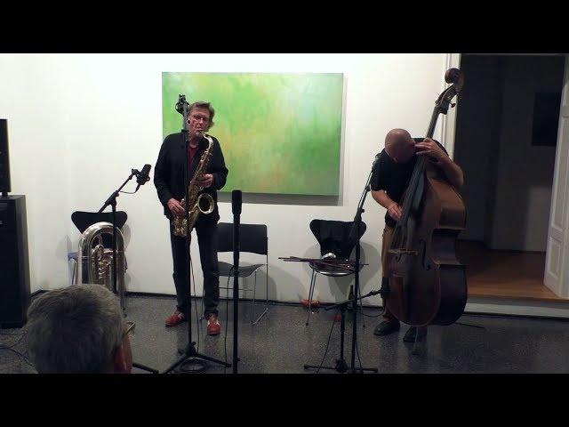 Udo Schindler & Peter Jacquemyn @ Galerie arToxin / München 2nd Set  NEW AUDIOMIX !
