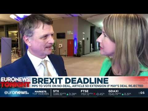 Gerard Batten on EuroNews discussing the current state of Brexit
