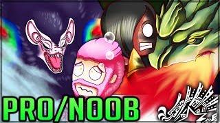 TEMPERED TERROR TWOSOME - Pro and Noob VS Monster Hunter World Iceborne! #mhw #iceborne #proandnoob