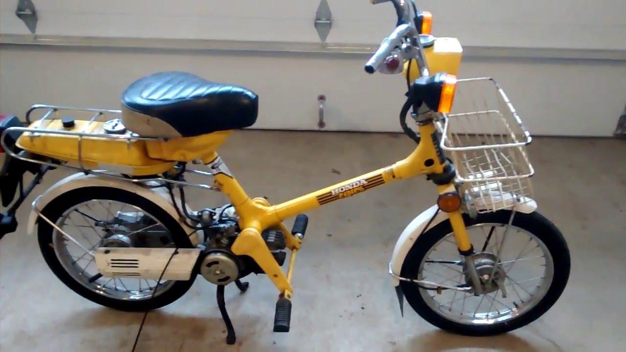 1978 Honda Express 1 - Honda Express Nc Moped Parts Bike - 1978 Honda Express 1