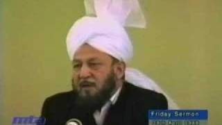 Friday Sermon Juma Khutba April 29 1988 Part 3/6 Ahmadiyya Islam Pakistan