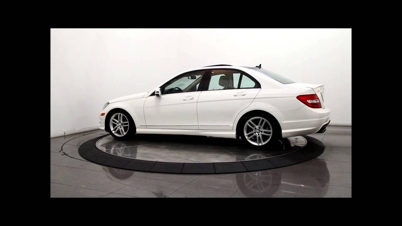 2013 MERCEDES-BENZ C300 4MATIC Luxury Sedan - YouTube