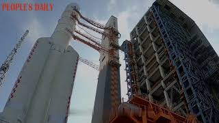 Chang'e-5 lunar probe, missioned on bringing moon samples back to earth, is ready to be launched