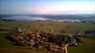 Drohnenflug bei Bicheln am Waginger See|Wltoys v686g