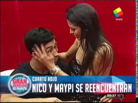 """""""Gran Hermano 2015"""": Maypi se encontró con Nicolás en el Cuarto Rojo"""