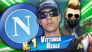 FORTNITE NAPOLI WHAT REAL VITTORY!