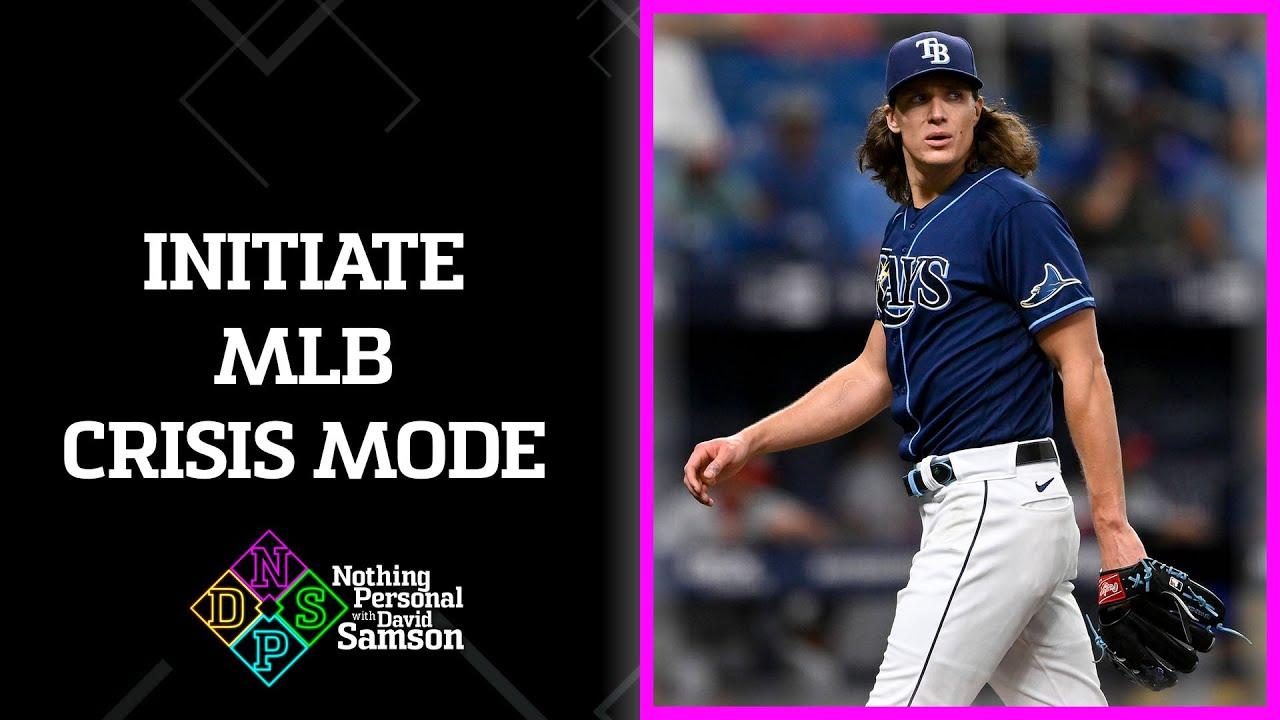 Tyler Glasnow's injury is MLB's fault
