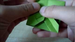 Origami How-to: Placemat Unit / Square Coaster