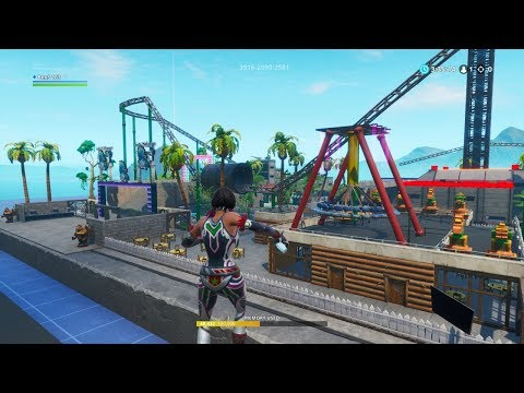 Theme Park In Fortnite Creative FortniteBlockParty. INSANE ROLLERCOASTER! 🎢