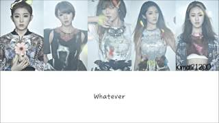4Minute - Whatever [Hangul/Romanization/English] Color & Picture Coded HD MP3