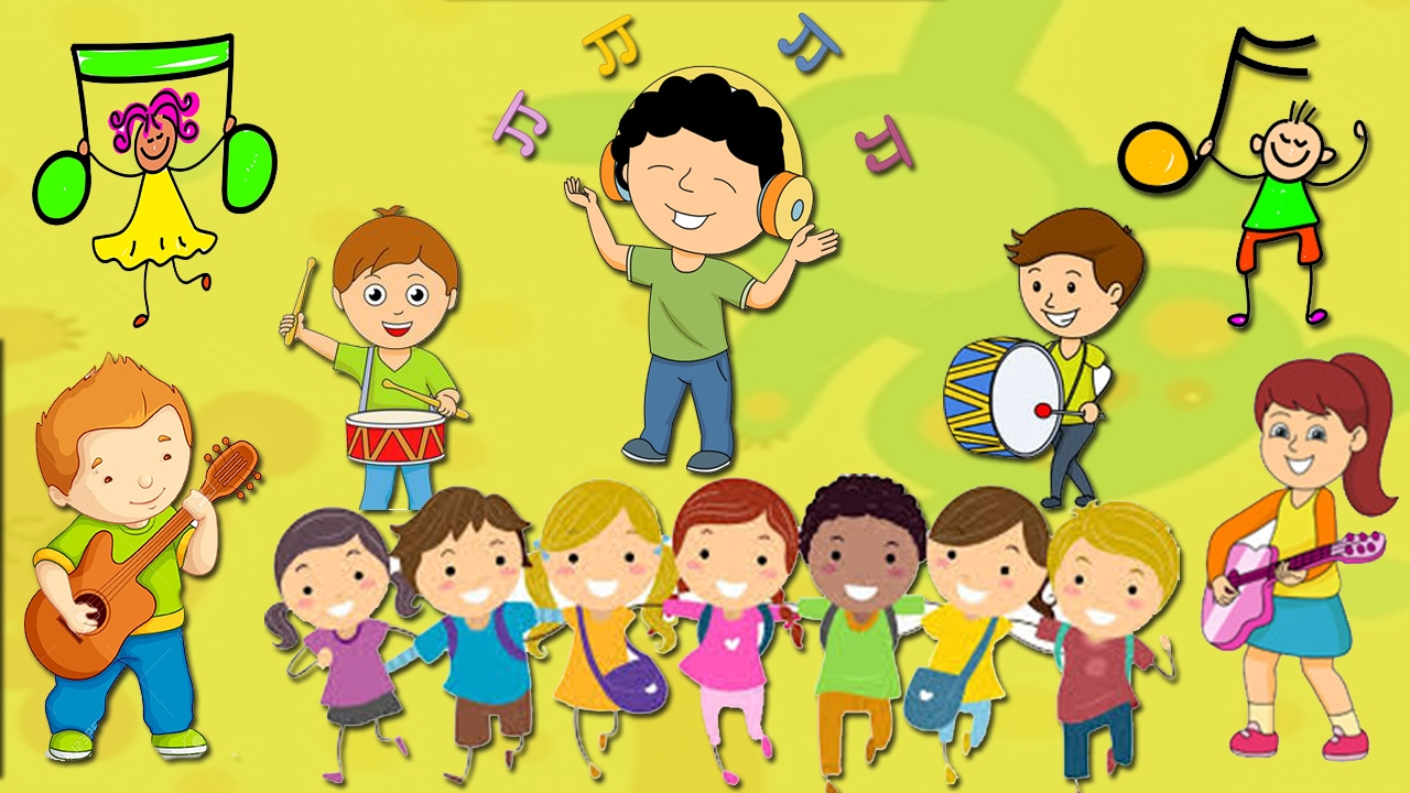 music instrumental children happy song playtime