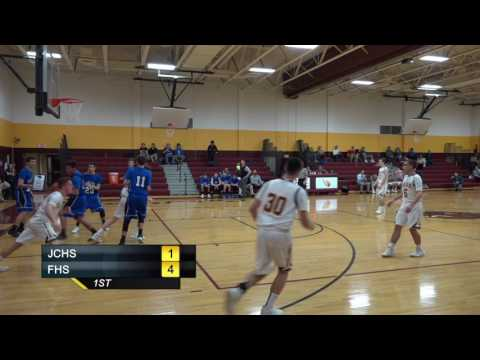 JCHS Boys Basketball vs Fairhaven High School
