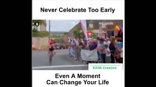 DON'T CELEBRATE TOO EARLY - SPORT FAILS|whatapp status|KAMI Creative