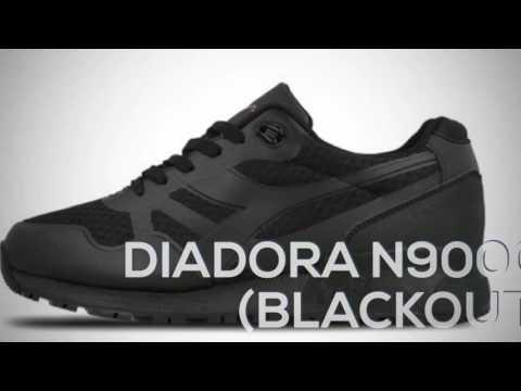 DIADORA N9000 (BLACKOUT) PEACE X9 YouTube