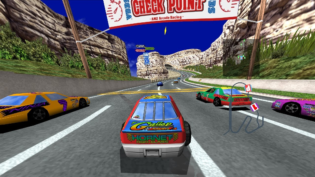 DAYTONA USA 2019 HD Textures pack by stf999 (ElSemi's
