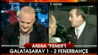 Galatasaray 1 Fenerbahçe 2  Telegol. Abdurrahim Albayrak ağlıyor. 18.03.2011