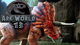 ARK WORLD Jurassic Park Trike zähmen Jurassic World Ark Projekt - Ark Deutsch German #13