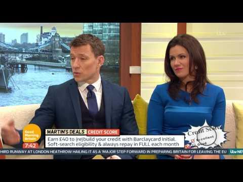 Martin Lewis on Rebuilding Your Credit Score   Good Morning Britain