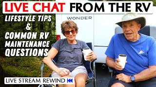 Common Lifestyle and RV Maintenance Questions! Ask Us Anything with the Wendlands
