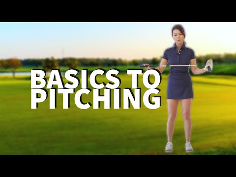 [Golf with Aimee] Aimee's Golf Lesson 030: Basics to Pitching