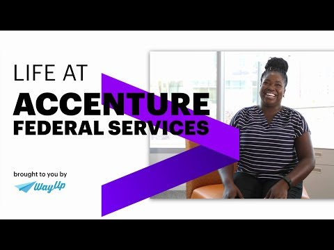 Working at Accenture Federal Services