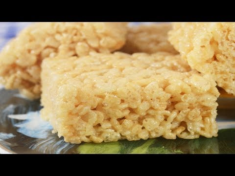 Rice Krispies Treats Recipe Demonstration - Joyofbaking.com
