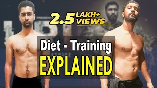 URI Vicky Kaushal Diet & Training