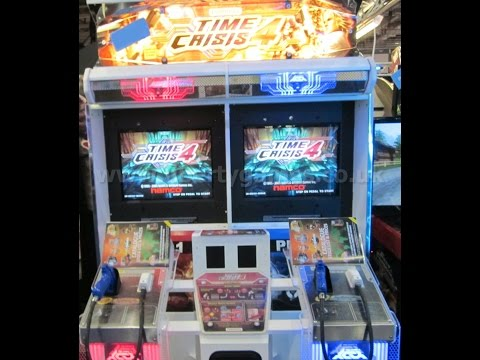 time crisis 4 arcade weston super mare grand pier 10 years old 2006-2016