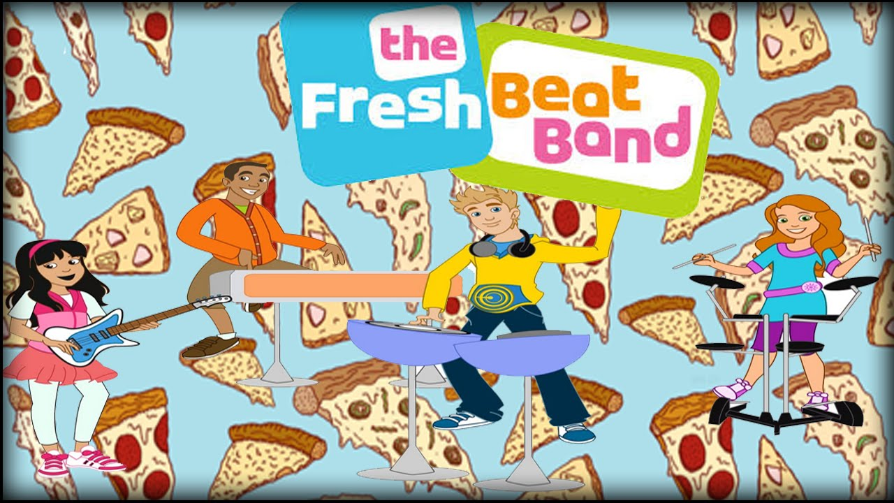 the fresh beat band giant pizza new nick junior game youtube