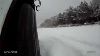 2014 11 03 Нива с ABS торможение 40 50 км