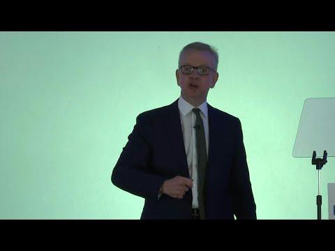 Environment Secretary Michael Gove launches Tory leadership bid | AFP