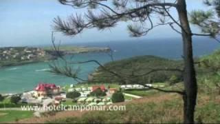 Playa La Arena en Isla, Cantabria- Hotel Campomar