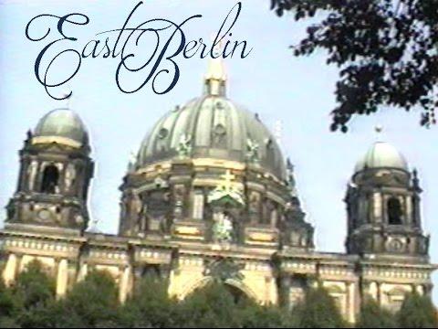 Walking Tour of East Berlin - 1990