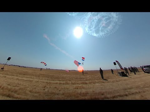 Opening Ceremony Parachute Jump .. California Capital Airshow 2017 (360)