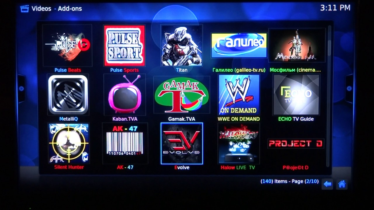 RUSSIAN TV Kodi