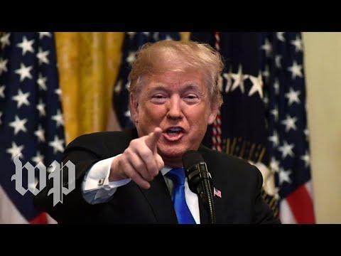 Trump's bomb response devolves into blame game